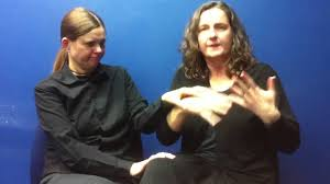 How Do Deaf Blind Communicate Welcome To Pro Tactile The Deafblind Way Youtube