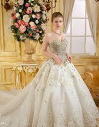 swarovski brautkleider großhandel bling sweetheart luxus brautkleider perlen swarovski