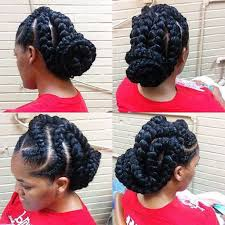 goddess braid hairstyles for black women 3 goddess braids updo 31 goddess braids hairstyles for black women