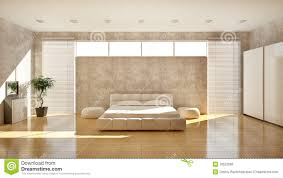 modern interior of a bedroom royalty free stock image image