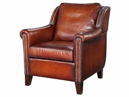 Chesterfield Style Armchair Harris Armchair In Hand Dyed Leather