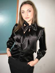 in satin blouses in satin blouses blouse with