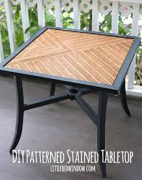 how to make an outdoor table 28 diy outdoor furniture projects to get ready for spring a