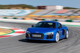 Audi R8 Blue - 2017 audi r8 v10 spyder one week review automobile magazine