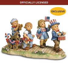 hummel figurines the danbury mint