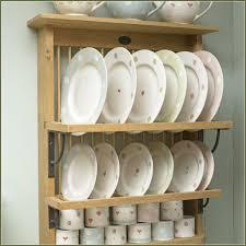 wooden kitchen plate rack cabinet kitchen cabinets pinterest