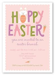 easter brunch invitations pink celebration invitation party invitations