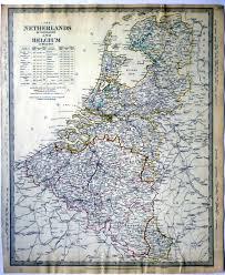 map netherlands belgium simon antique maps