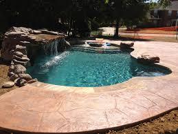 water feature photos dallas allen grottos desoto pool slides