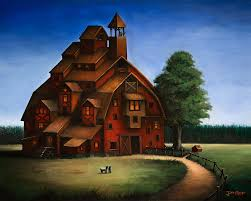 barn house barn house by justindmiller on deviantart ilustraciones