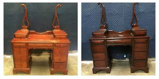 how to refinish a desk furniture refinishing wood furniture refinishing fort worth tx