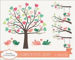 love bird tree clipart 37