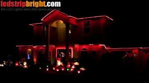rgb led strip christmas lights youtube