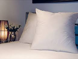 big bed pillows amazon com the better sleep company luxury soft touch square