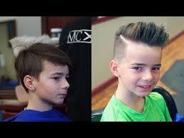 boys haircuts pompadour kid s pompadour tutorial youtube