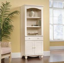 Antique White Bookcase With Doors Awesome Antique White Bookcase Deisgn Ideas To Organize Your Book