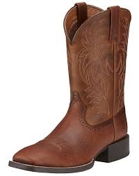 size 12 wide womens boots ariat s sport 11 wide square toe boots brown