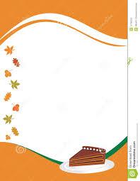 thanksgiving menu template stock photos image 10700233