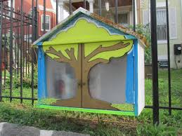 new little free library on park road park view d c
