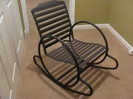 awesome metal outdoor rocking chairs for interior designing home