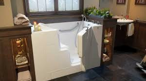 Walk In Shower Designs by Hydro Dimensions Walk In Tubs Youtube