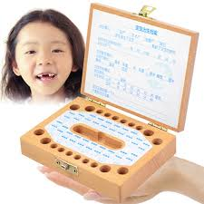 Tooth Fairy Gift Personalised Wooden Baby Tooth Fairy Box Deciduous Box Lanugo Save