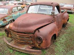 Vintage Ford Truck Junk Yards - vintage auto salvage possum grape ar