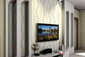 26 tv room wall painting ideas black and white living room with