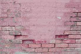 digital brick wall pink painted aged background backdrop for