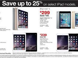 target black friday performance on sales best black friday 2015 sales for apple ipad air ipad mini tablets