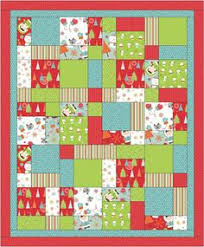 Ideas For Christmas Fat Quarters by A Charming Christmas Quilt Christmas Quilt Patterns Quilt