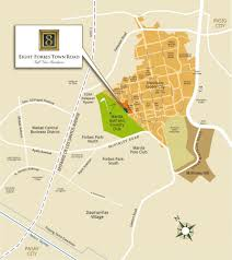 Metro Manila Map by 8 Forbestown Road Condominium Forbestown Road Bgc Taguig City
