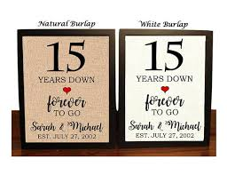 15th anniversary gifts 15th anniversary gift 15th wedding anniversary gift gift