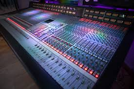 Recording Studio Mixing Desk by Ssl 4000g Mixing Console Now At Alive Network Recording Studios