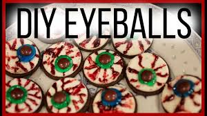diy easy halloween oreo eyeball treats youtube