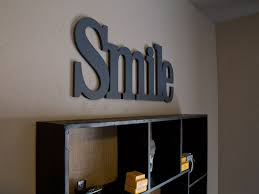 Decorative Letters For Walls Connected Wood Letters Wooden Words Custom Made Craftcuts Com