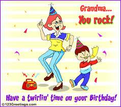 grandma you rock free grandparents ecards greeting cards 123