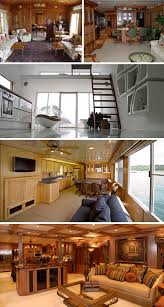 Amazing Home Interiors Whatever Floats Your U2026 House 16 Amazing House Boats Urbanist