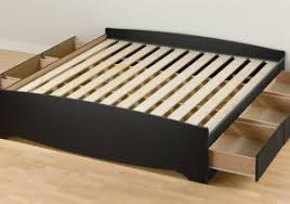 Gorgeous Platform Bed Wood With by Wood King Beds With Storage Drawers Underneath Different 14