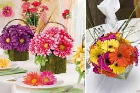 Daisy Centerpiece Ideas by Daisy Wedding Flower Centerpieces Chicago The Wedding