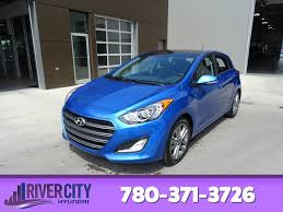 new 2017 hyundai elantra gt hatchback in edmonton hel4878 river
