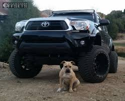 2013 toyota tacoma black rims wheel offset 2013 toyota tacoma hella stance 5 suspension lift 6