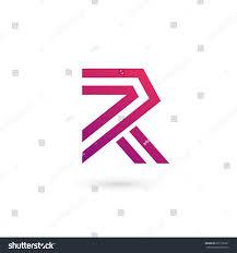 r logo letter r logo icon design template stock illustration 697156021