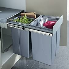 hafele pull out waste bin 40 litres