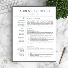resume templates for mac text edit double space modern resume template for word and pages creative modern