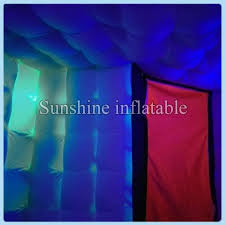 photo booth tent 3ml 3mw 2 4mh cube shaped portable led photo booth tent
