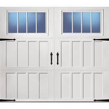 Standard One Car Garage Size Shop Garage Doors At Lowes Com