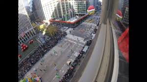 thanksgiving day parade 2017 time lapse