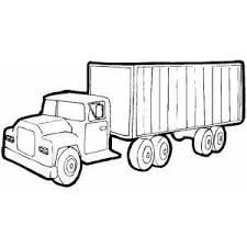 tractor trailer coloring pages 63 best coloring pages trucks and other vehicles images on