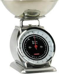 Vintage Kitchen Scales Amazon Com Typhoon Stainless Steel Bella Mechanical Kitchen Scale